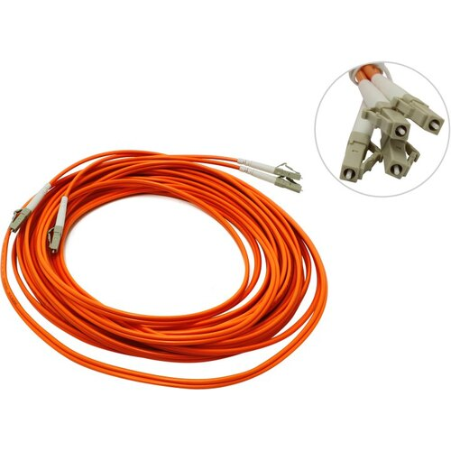 Patch cord ВО, LC-LC, Duplex, MM 50 / 125 10м
